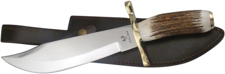 FWT005 Frost Cutlery Whitetail Bowie Knife Stag