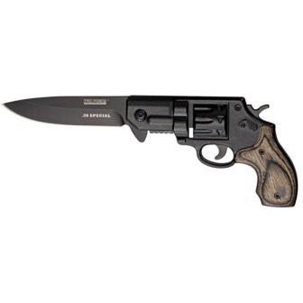 TF760BGY Tac Force Revolver Linerlock Pocket Knife A/O