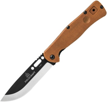 TPFCF01 TOPS Fieldcraft Linerlock Pocket Knife