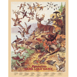 TSN1139 Tin Sign - Remington Game Load Game