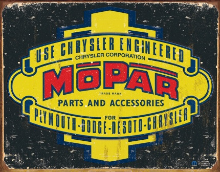 TSN1314 Tin Sign - Mopar 37-47