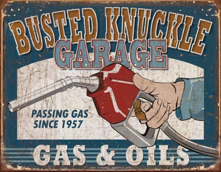 TSN1738 Tin Sign - BNG Gas & Oils