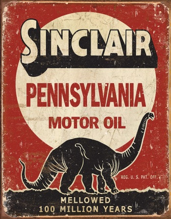 TSN1741 Tin Signs Sinclair Motor Oil Sign