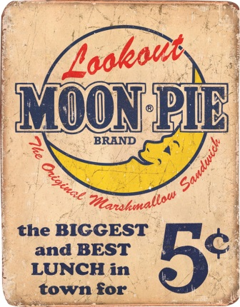 TSN1801 Tin Sign - Moon Pie Best Lunch