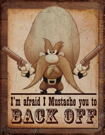 TSN1905 Tin Sign - Yosemite Sam