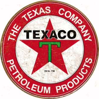 TSN1926 Tin Sign - Texaco Filling Station