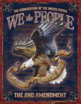 TSN1992 Tin Sign - We The People