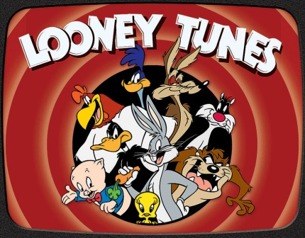 TSN2178 Tin Sign - Looney Tunes Family
