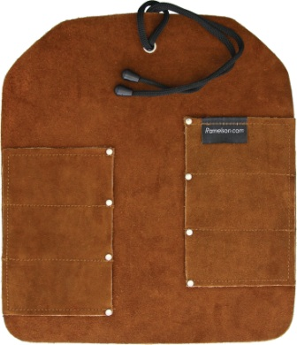 UJ03 UJ Ramelson Six Pocket Leather Tool Roll