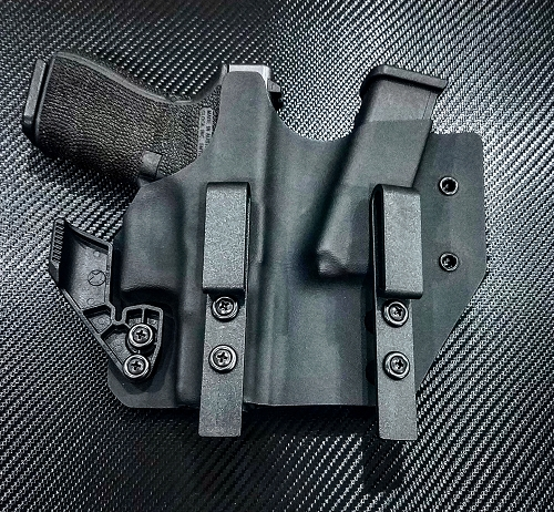 DCTACTGMH Custom Kydex Gun and Magazine Appendix Holster AIWB