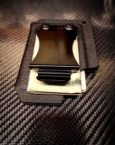 DCTACTKW Custom Kydex Wallet Money Clip Card Holder