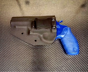 DCTTJUD3B Taurus Judge Kydex Holster Black Right Handed OWB