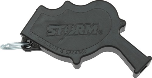 AW1BK All Weather Storm Safety Whistle