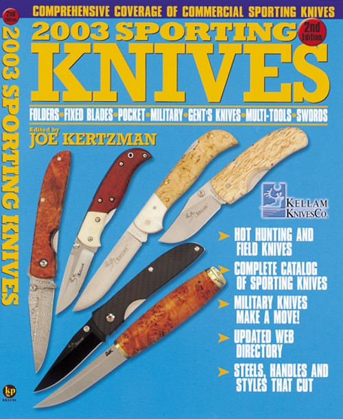 BK116 Book - 2003 Sporting Knives Book