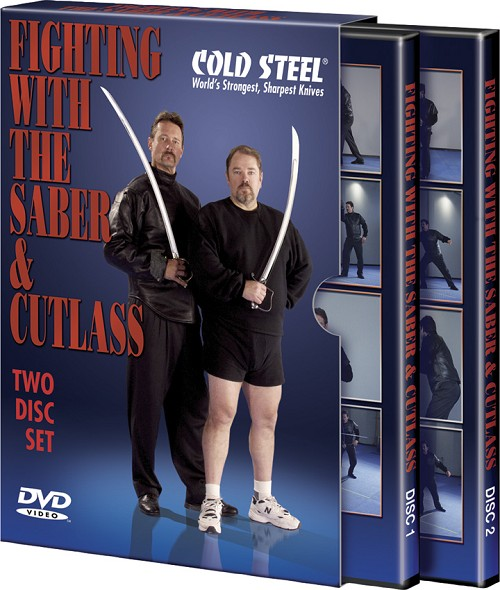 CSVDFSC Cold Steel Fighting with the Saber and Cutlass DVD Set