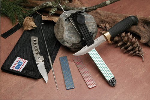 DMTADELUXE DMT The Aligner Deluxe Knife Sharpening Kit