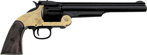 DX1008L Denix Model 1869 .45 Caliber Schofield Revolver Replica