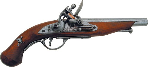 DX1012 Denix French 18th Century Pirate Flintlock Pistol Replica