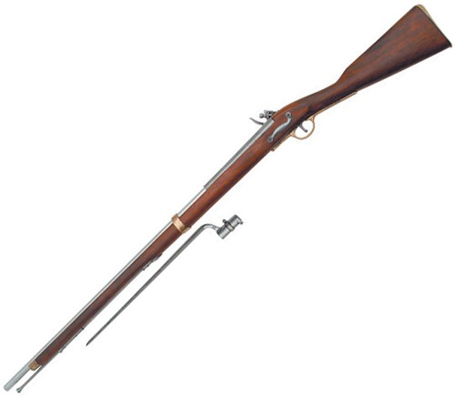 DX1054 Denix England 1722 Land Pattern Brown Bess Musket Replica