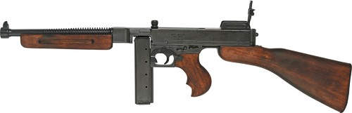 DX1093 Denix 1918 Thompson M1928A1 Submachine Gun Replica US Military Version