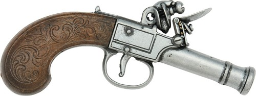DX237G Denix Gentleman's Pocket Flintlock Pistol Replica