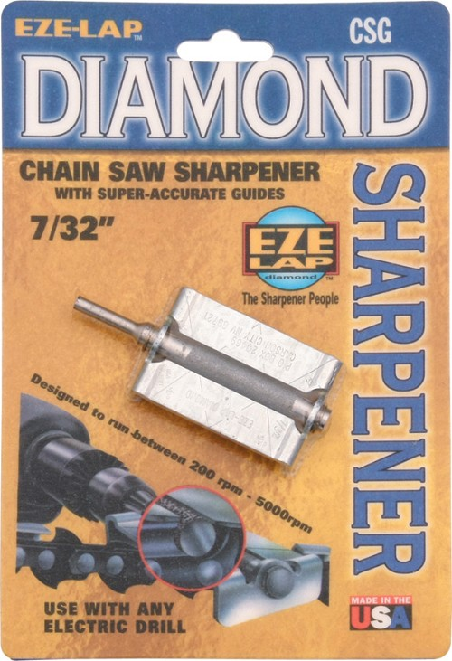 EZLCSG732 Eze-Lap Diamond Chain Saw File Sharpener
