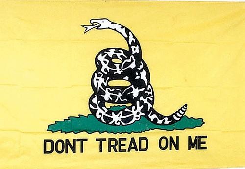 flag7063 flags yellow gadsden flag