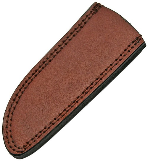 PA660709 Pakistan Leather Knife Sheath Drop Point