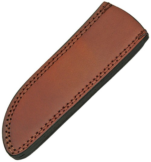 PA660710 Pakistan Leather Knife Sheath Drop Point