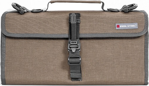 RSRS042 Real Steel Pilgrim 22 Knife Bag Coyote