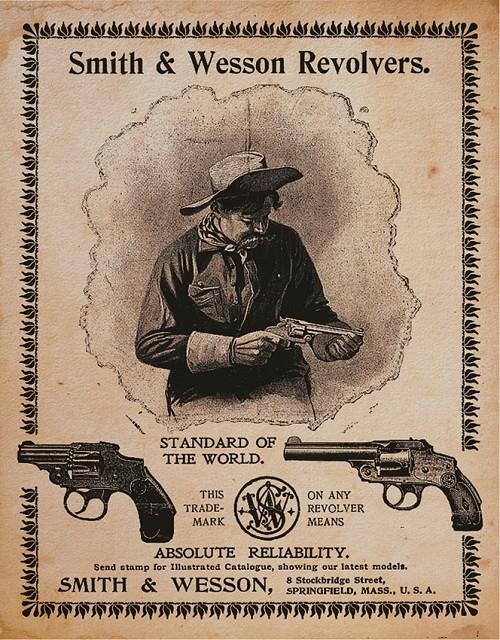TSN1464 Tin Sign - Smith & Wesson